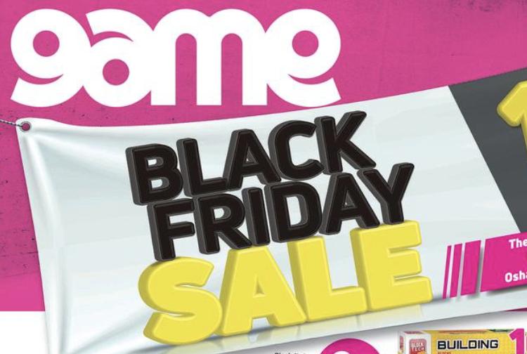 Game Black Friday advert