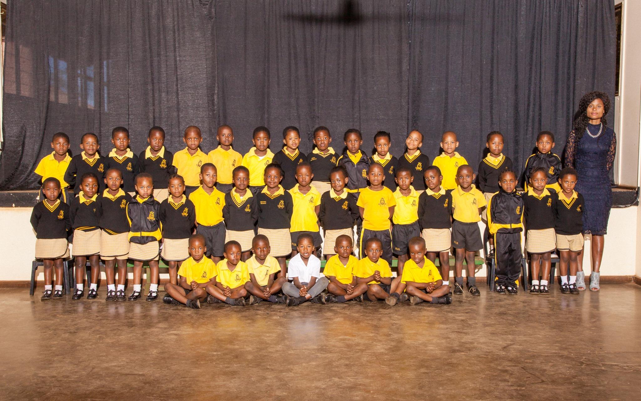 Nongoma Primary School Grade 1 Class