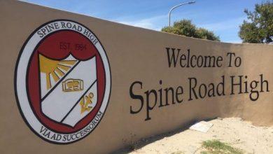 Spine Road High School Application Form 2